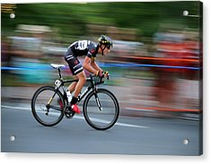 Acrylic Print featuring the photograph Heading For The Finish Line by Kevin Desrosiers