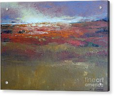 Heading West 6 Acrylic Print by Melody Cleary