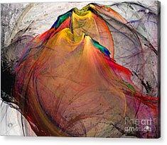 Headless-abstract Art Acrylic Print by Karin Kuhlmann