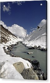 Headwaters Of Barun Khola - Makalu Base Camp Acrylic Print by Craig Lovell