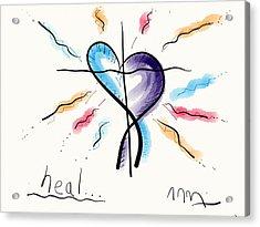 Heal... Acrylic Print
