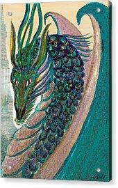 Healing Dragon Acrylic Print