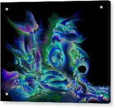 Hear Me Acrylic Print by Bodhi