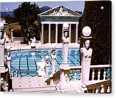 Hearst Castle - Roman Pool Acrylic Print by Robert  Rodvik