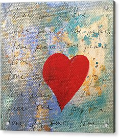Heart #9 Acrylic Print