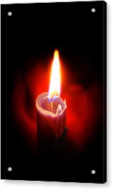 Heart Aflame Acrylic Print
