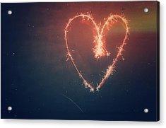 Heart Acrylic Print by Daniel Precht