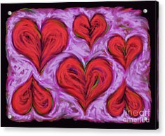 Heart Drift Acrylic Print by Keith Mills