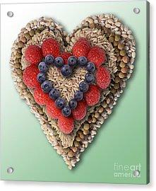 Heart-healthy Foods Acrylic Print by Gwen Shockey