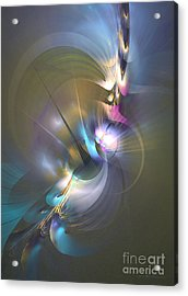 Heart Of Dragon Acrylic Print by Sipo Liimatainen