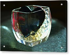 Heart Of Glass  #3  Acrylic Print