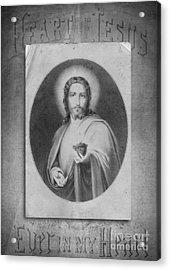 Heart Of Jesus Acrylic Print