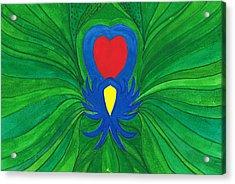 Heart Of Love.mexico Acrylic Print