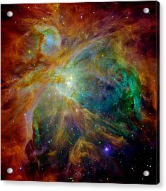 Heart Of Orion Acrylic Print by Benjamin Yeager