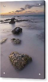 Heart Of Stone Acrylic Print by Adam Romanowicz