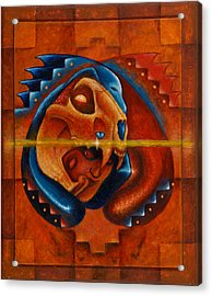 Heart Of The Jaguar Priest Acrylic Print