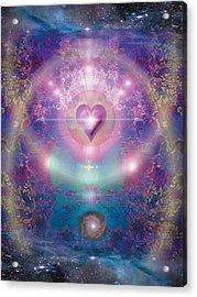 Heart Of The Universe Acrylic Print by Alixandra Mullins