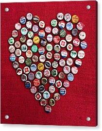 Heart Pop Acrylic Print