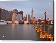 Acrylic Print featuring the photograph Heart San Francisco by Jonathan Nguyen
