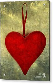 Heart Shape Acrylic Print by Bernard Jaubert