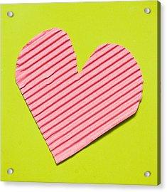 Heart Shape Acrylic Print by Tom Gowanlock