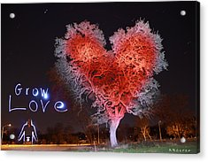Grow Love Acrylic Print