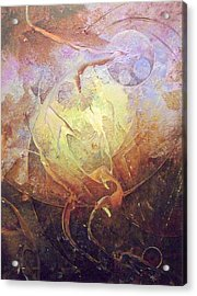 Heartbeat Acrylic Print by Fred Wellner