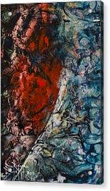 Acrylic Print featuring the painting Heartfelt by Ron Richard Baviello