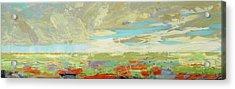 Heartland Series/ Big Sky Acrylic Print by Marilyn Hurst