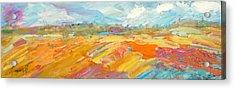 Heartland Series/ Ranchlands Acrylic Print