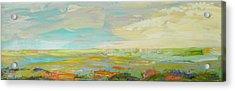 Heartland Series/ Springtime Acrylic Print by Marilyn Hurst