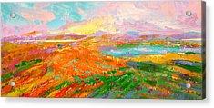 Heartland Series/ Vineyards Acrylic Print