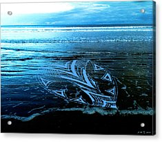 Acrylic Print featuring the photograph Hearts Across Oceans by Amanda Holmes Tzafrir