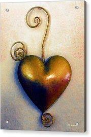 Heartswirls Acrylic Print