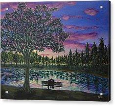 Heartwell Park Acrylic Print