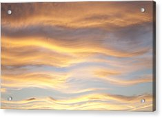 Acrylic Print featuring the photograph Heat Waves by John  Bartosik