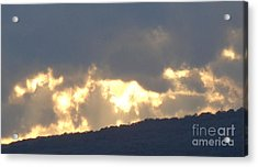Acrylic Print featuring the photograph Heated Drama 1of3 by Christina Verdgeline