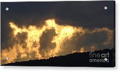 Acrylic Print featuring the photograph Heated Drama 3of3 by Christina Verdgeline