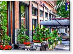Heathman Restaurant 17368 Acrylic Print