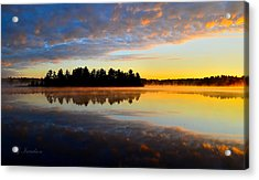 Heaven And Earth Acrylic Print by Gregory Israelson