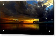 Heaven And Hell Acrylic Print by Stephen Melcher