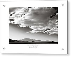 Heaven And Speed IIi Acrylic Print by Holly Martin