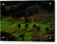 Heaven Below Tiny Trees Acrylic Print by Stephen Melcher