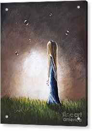 Heaven Heard Her Prayers Tonight By Shawna Erback Acrylic Print