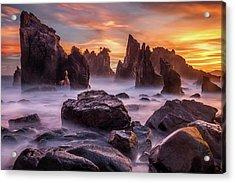 Heaven Of Rocks Acrylic Print by Gunarto Song