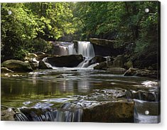 Heavenly Bliss On Decker Creek Acrylic Print