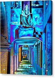 Heavenly Blues Acrylic Print by William Beuther
