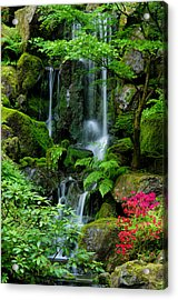Heavenly Falls Serenity Acrylic Print by Don Schwartz
