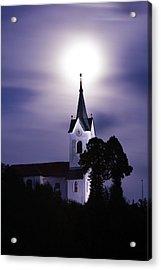 Heavenly Glow Acrylic Print