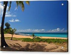 Heavenly Haena Beach Acrylic Print